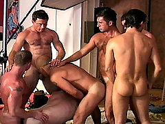 Gay Bareback Jeff, Daven, Bo, Sean, Dillion, Sergio and Patrick mature gay fuck