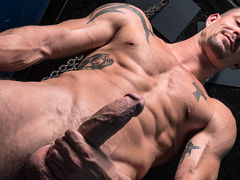 Sean Maygers bathhouse solo mature gay fuck