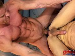 Troy Accola & Johnny V mature gay fuck
