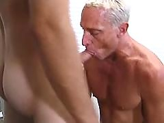 Jailer and prisoner suck each other mature gay fuck