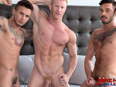 Johnny, Seth & Cris mature gay fuck