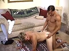 Guy gets cash for sucking hard dick mature gay fuck