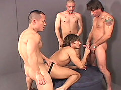 Gay Bareback Jeff, Dick, Pedro, Gino, Ricky and Brian