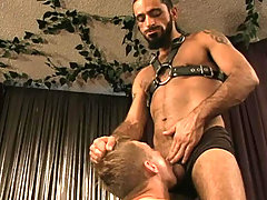 Hardcore prelims and domination action with two hot studs mature gay fuck