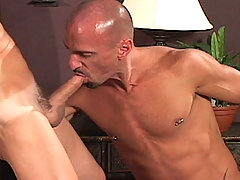 Gay Bareback Kirk, Jed and Lance mature gay fuck