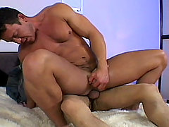 Gay Bareback Carlos and Dick mature gay fuck