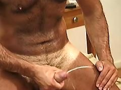 Lovely boys with stiff rods in orgy