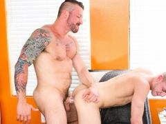Hard Drive Daddy mature gay fuck