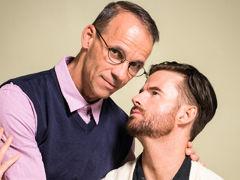 After his wife catches him jerking off to twink porn, Brendan Patrick visits his therapist, Rodney Steele. Brendan is ashamed and afraid his life is over. To help him attain to the root of his troubles, Rodney asks a series of questions. Their discussion mature gay fuck