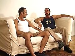 Latino hunk gets nailed doggy style