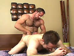 Gay Bareback Holden & Sebestan mature gay fuck
