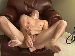 Landon with Toy mature gay fuck