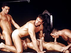 The sex-driven quartet works itself fall in love with an erotic frenzy!!