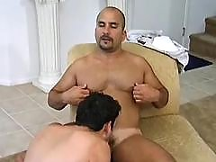 Secret gay dream cum true in closet