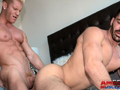 Brogan Reed & Johnny V mature gay fuck