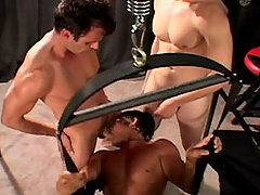 Gay Bareback Jeff, Dick, Brad and Jagger mature gay fuck