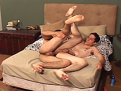 Gay Bareback Paul Black & Miguel Temon mature gay fuck